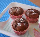 Muffins de chocolate sin huevo
