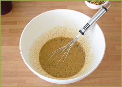 Azúcar para hacer brownie de chocolate