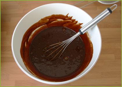 Mezcla para hacer brownie de chocolate