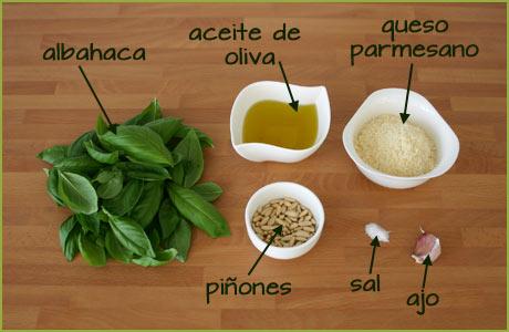 Deliciosa salsa pesto casera c digo cocina - Como se hace la salsa pesto para pasta ...