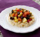 Receta para hacer cous cous con verduras y un toque de especias
