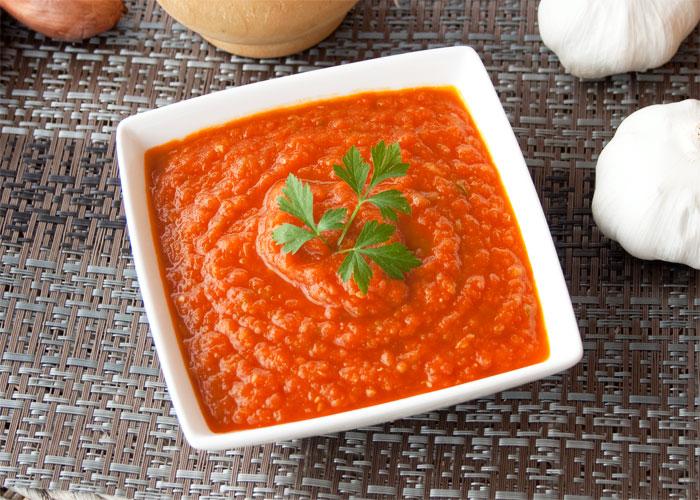 Receta de salsa de tomate casera y fácil de hacer