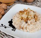 Receta de risotto con gorgonzola, pera y nueces fácil