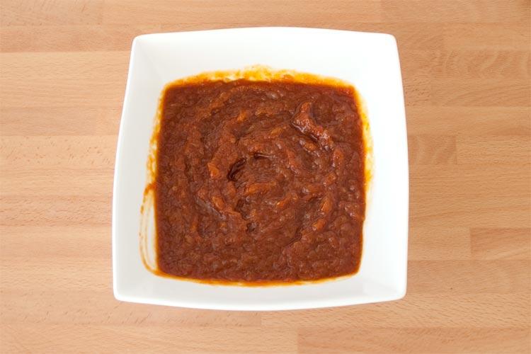 Y ya tenemos nuestra salsa barbacoa casera y fácil de hacer