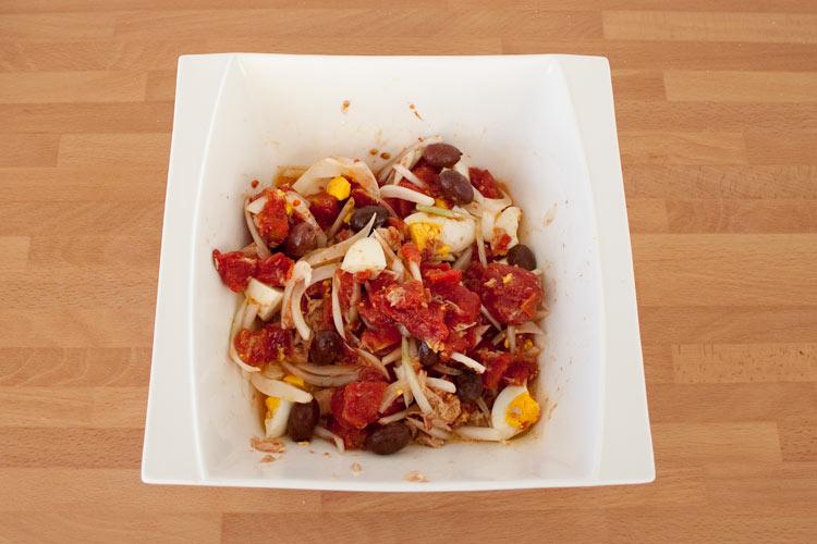 Ensalada murciana, receta tradicional