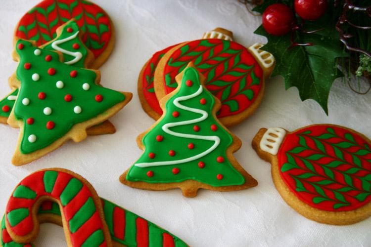 Galletas navideñas de mantequilla