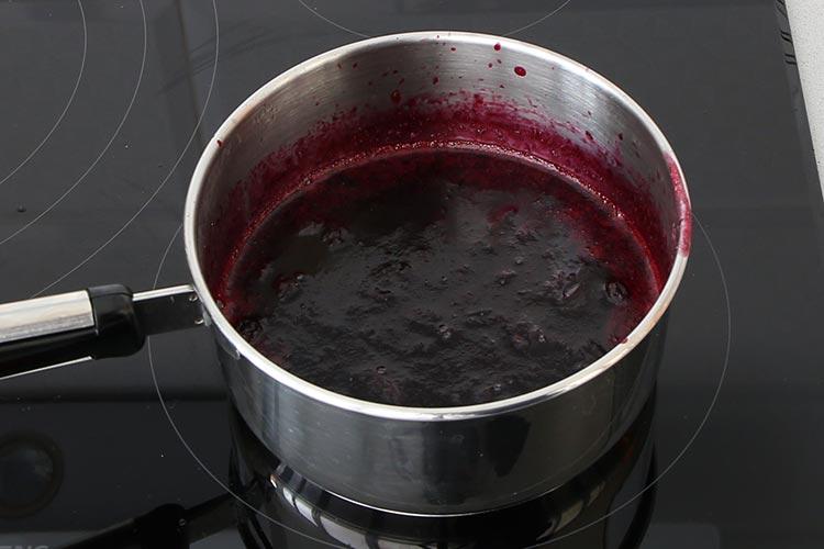 Salsa de arándanos para carne fácil