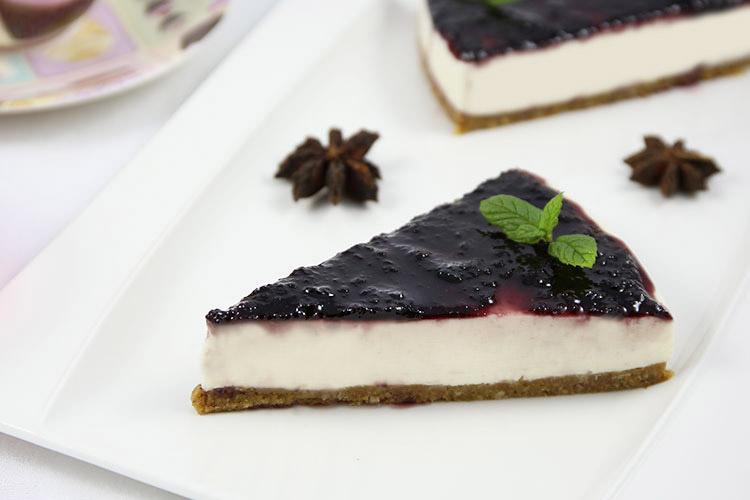 Receta de tarta de queso sin horno