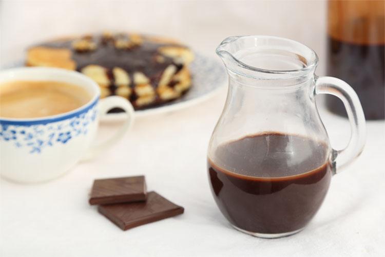 Sirope de chocolate casero