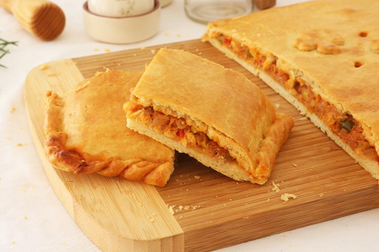 Empanada gallega tradicional