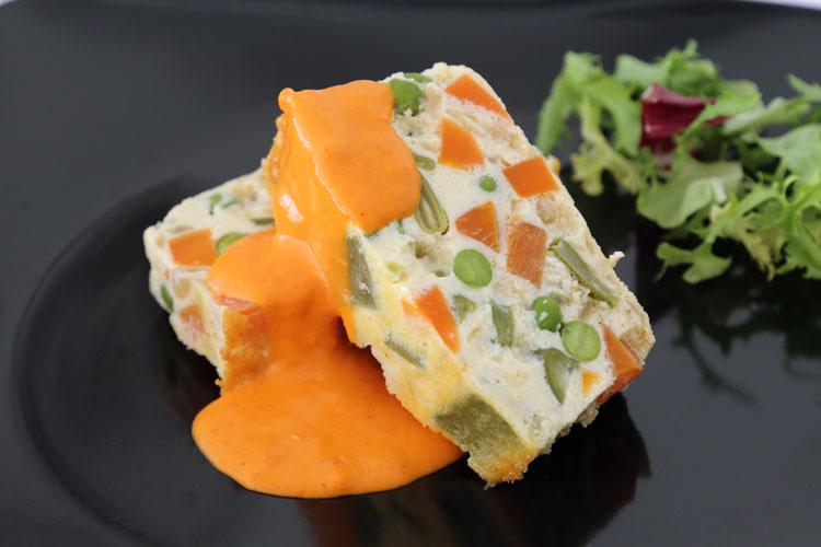 Pastel de verduras fácil