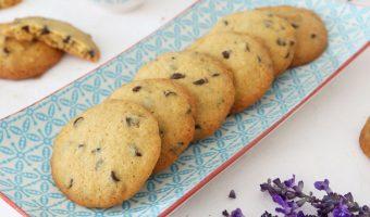 Cómo hacer cookies con gotas de chocolate