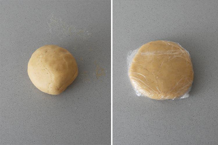 Masa quebrada para hacer quiche de verduras