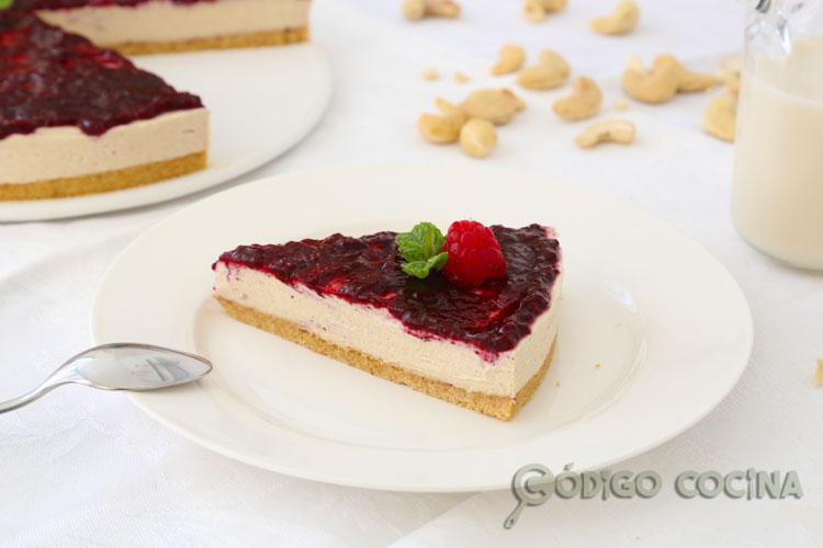 Cheesecake sin azúcar y saludable
