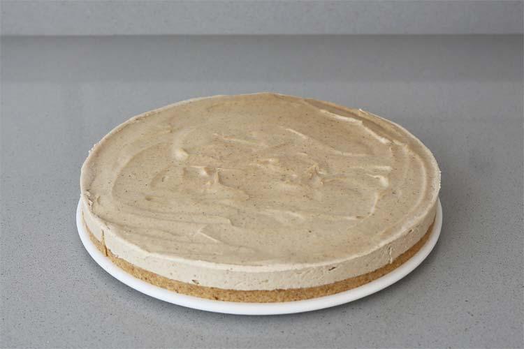 Desmoldar el cheesecake