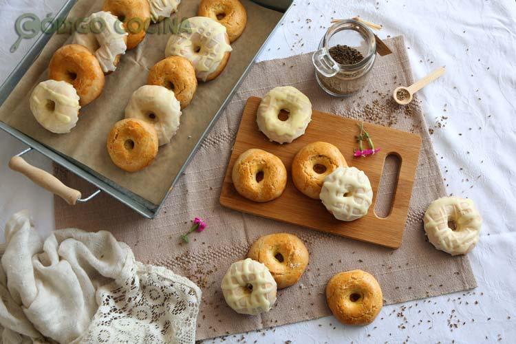 Rosquillas de San Isidro tontas y listas