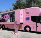 Exterior del autobús de Pork Lovers Tour