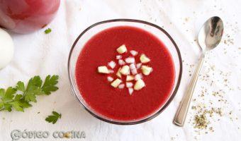 Cómo hacer gazpacho de cerezas