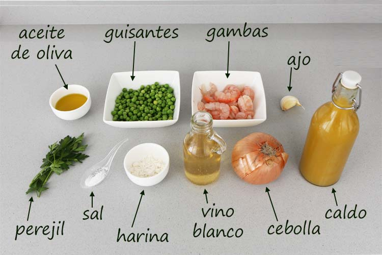 Ingredientes para hacer salsa verde
