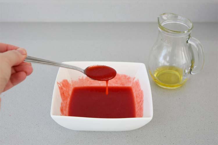Vinagreta de frutos rojos