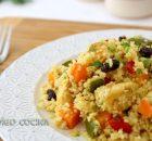 Cuscús con pollo al curry
