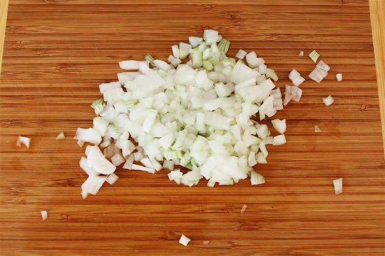 Picar la cebolla