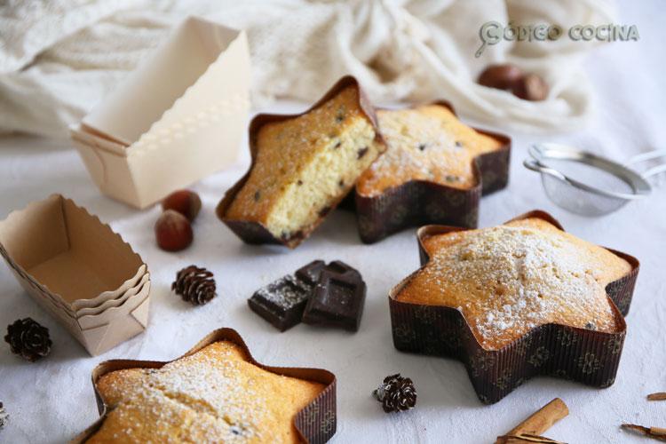 Bizcocho de coco y chocolate fácil