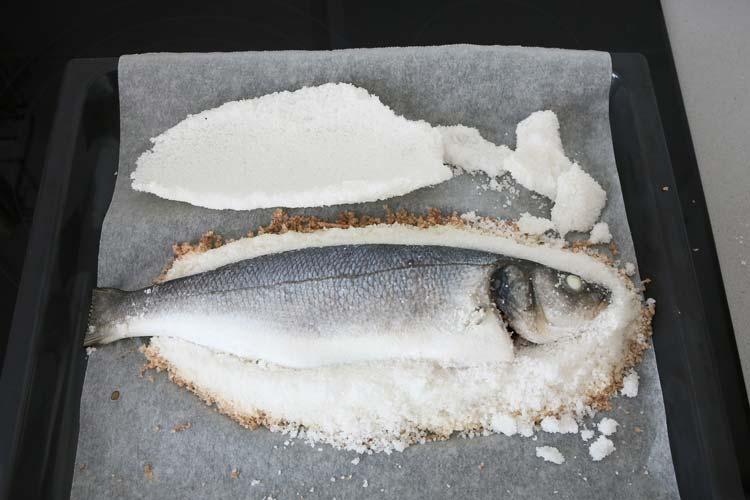 Retirar la capa de sal