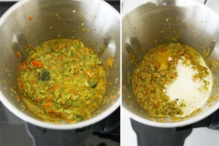 Cuece las verduras