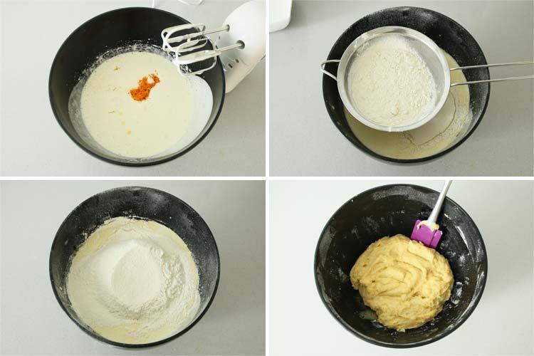 Masa para hacer las rosquillas