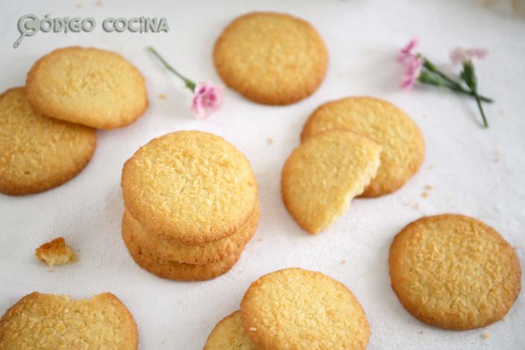 hornear galletas de coco caseras