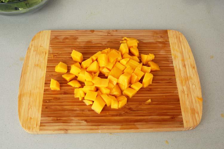 Cortar el mango