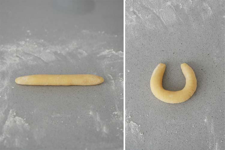 Forma galletas vanillekipferl