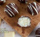 Trufas de coco y leche condensada