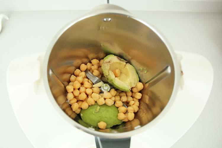 ingredientes hummus batidora