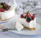 tarta fría de yogur