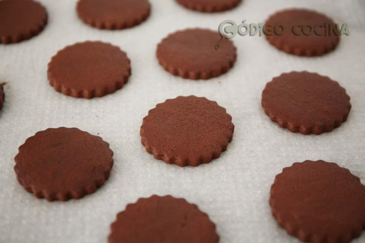 Así de buenas quedan las galletas de cacao