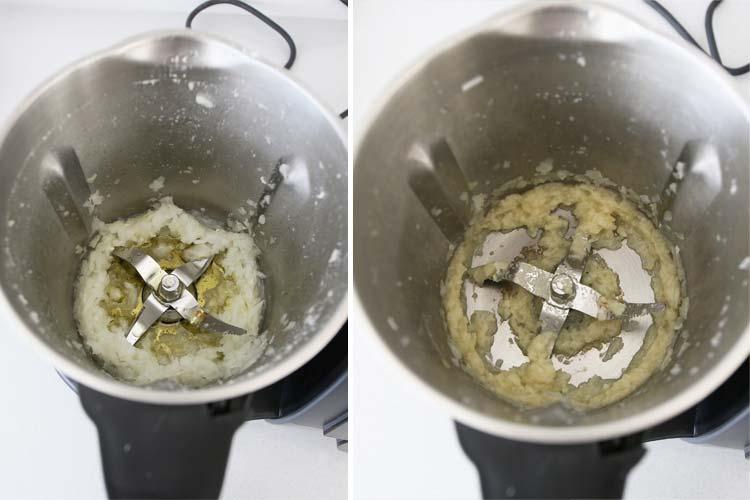 Trocear cebolla en Mambo