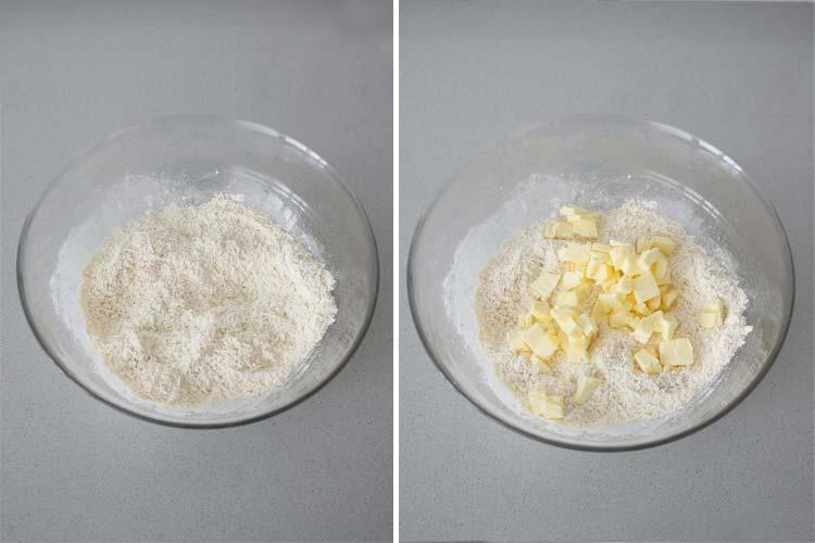 Hacer un arenado con galletas de queso