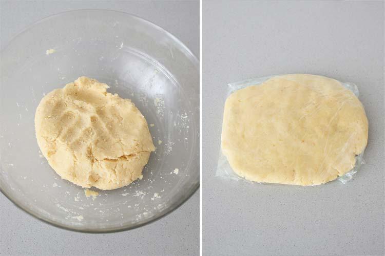 Masa para hacer galletas de queso