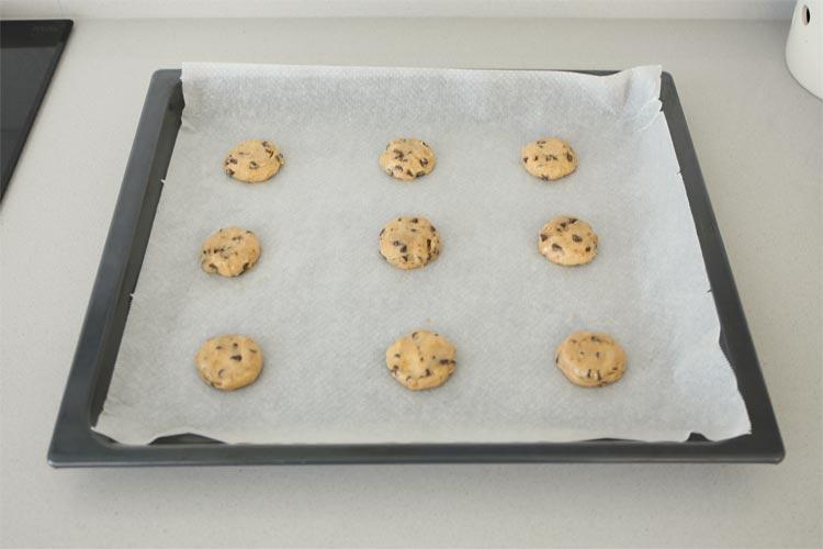 Hornear cookies de plátano