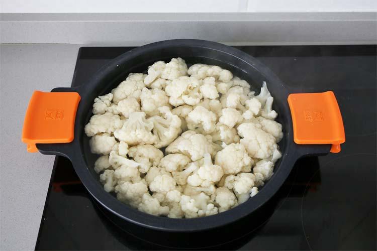 Cocer la coliflor