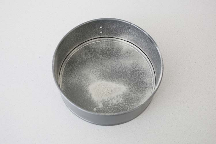 Engrasar bien un molde