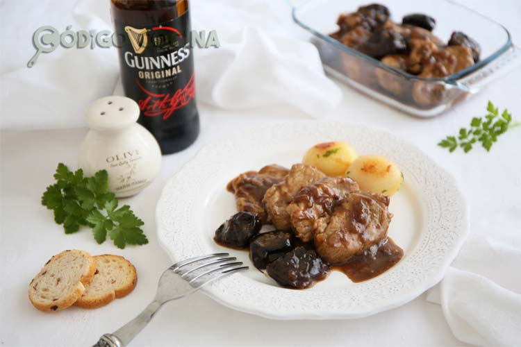 Solomillo de cerdo con salsa de cerveza negra